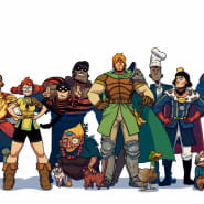 Rycerz Janek - spotkanie online z twórcami komiksu