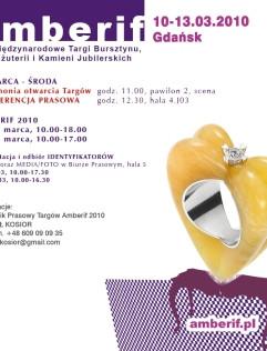 Amberif - 17. Międzynarodowe Targi Bursztynu, Biżuterii i Kamieni Jubilerskich