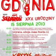 Solidarna Gdynia - XXX urodziny Solidarności