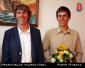 Piotr Myszka i Przemysław Miarczyński