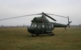 Przelot śmigłowcem Mi-2 - 49. Baza Lotnicza