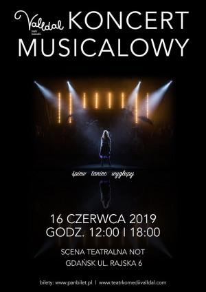 Koncert Musicalowy: 5. Urodziny Teatru Komedii Valldal -