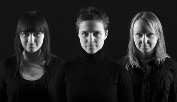 Atmen Trio: od lewej Monika Kwiatkowska (kontrabas), Agnieszzka Kamińska (wokal), Małgorzata Kęsicka (obój).