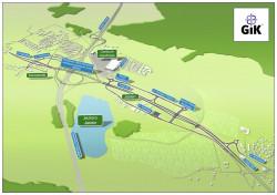 Gdańsk planuje kolejne dwa etapy budowy Trasy W-Z, od ul. Otomińskiej do ul. Bysewskiej, i od ul. Bysewskiej do granicy Miasta Gdańska.