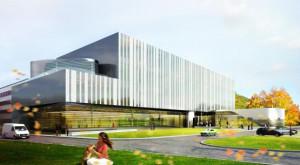 A tak wyglądać ma nowy budynek biotechnologii, który oddany do użytku zostanie najprawdopodobniej w 2015 roku.
