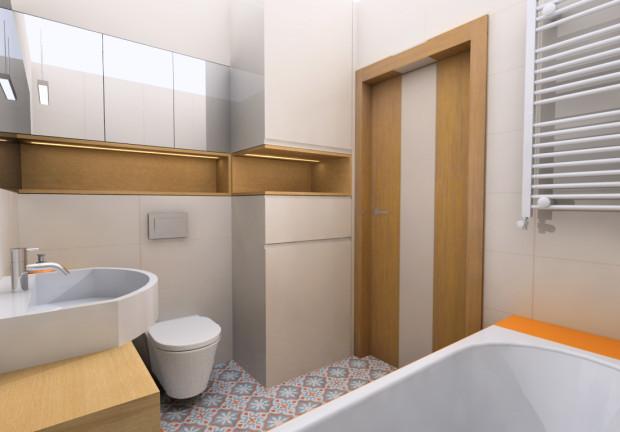 Aranżacje Wnętrz Wanna Prysznic I Pralka W łazience O