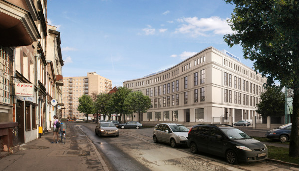 Tak będzie wyglądała elewacja po zakończeniu prac, czyli już w listopadzie. Projekt modernizacji przygotowała gdańska pracownia Studio 1:1.