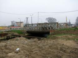 Most umożliwiający dojazd do Traktu św. Wojciecha od ul. Starogardzkiej.