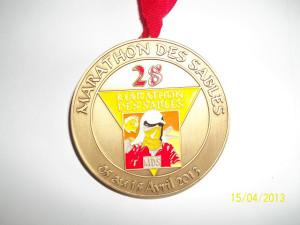 Medal Maratonu Piasków