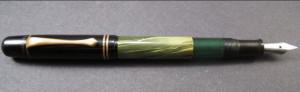 Pióra pochodzące z gdańskiej fabryki piór marki Pelikan.
