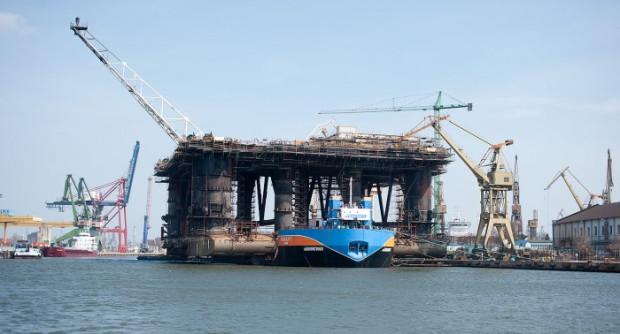 Po przebudowie platforma trafi na pola naftowo-gazowej firmy w brytyjskim sektorze Morza Północnego.