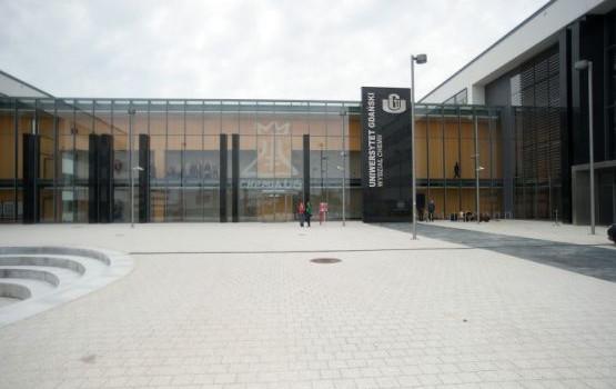 Nowy budynek Wydziału Chemii Uniwersytetu Gdańskiego, który mieści się przy ul. Wita Stwosza 63 w Gdańsku.