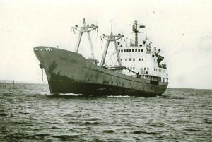 """""""Busko Zdrój"""" zatonął 8 lutego 1985 r. na Morzu Północnym. Z całej załogi uratowano jedną osobę."""