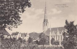 Tak niegdyś wyglądał ewangelicki Versöhnungskirche, czyli Kościół Pojednania.