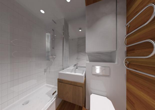 Aranżacje Wnętrz Mała łazienka Z Piecykiem Gazowym Serwis Dom I