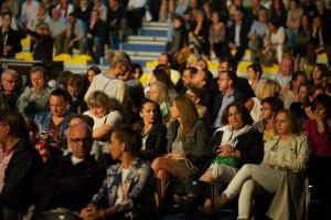 Koncerty festiwalowe cieszyły się dużym zainteresowaniem publiczności.
