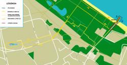 Mapa Triathlon Gdańsk 2013
