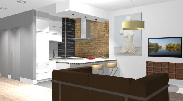 Aranżacje Wnętrz Kilka Sposobów Na Wydzielenie Kuchni