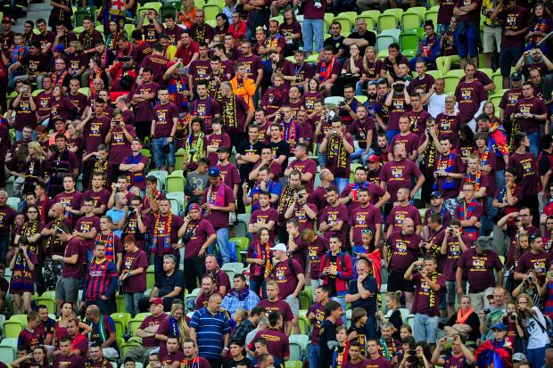 W środę, o godzinie 20 zostało opublikowane wspólne zdjęcie kibiców, którzy przyszli na PGE Arenę obejrzeć mecz Lechia - Barcelona.
