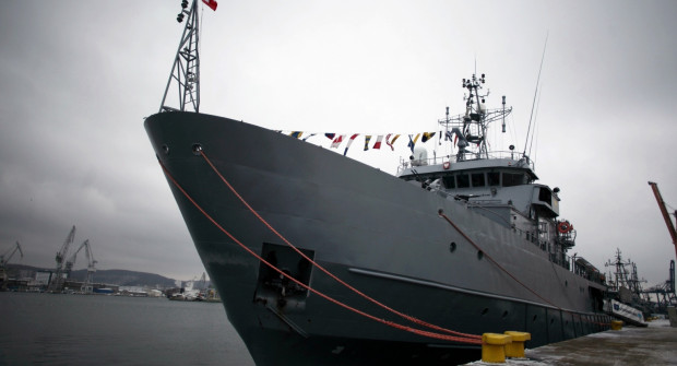Jednym z okrętów udostępnionych zwiedzającym będzie ORP Xawery Czernicki.