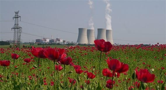 Elektrownia jądrowa w czeskim Temelinie.