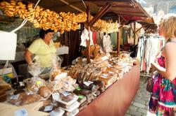 W tym roku na jarmarku królowało wiele produktów regionalnych z różnych stron kraju i świata.