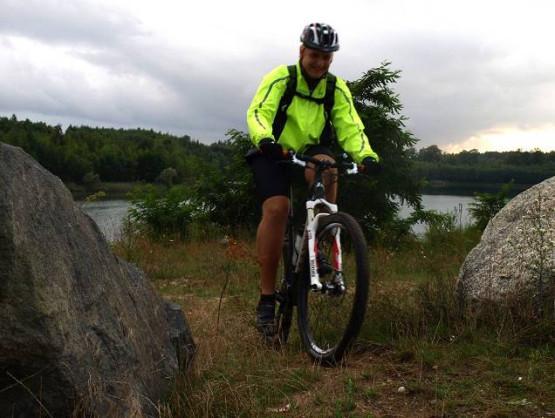 Migawki z wycieczki rowerowej po jeziorach w okolicy Trójmiasta