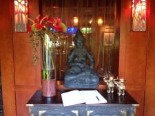 W sopockiej restauracji Tandoor House gości wita bogini Lakszmi.