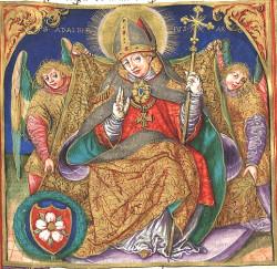 Święty Adalbert (Wojciech) był benedyktynem, który przybył do Gdańska pod koniec X wieku.