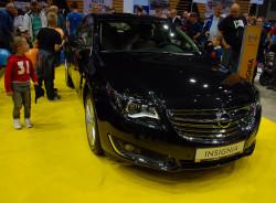 Dwa dni po premierze na targach we Frankfurcie, już na targach w Gdańsku  - Opel Insignia po bardzo solidnym faceliftingu.