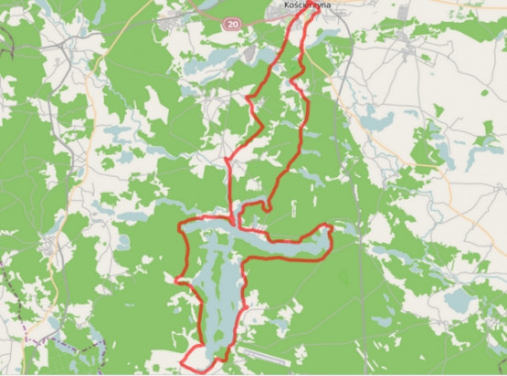 Kliknij na mapę by poznać szczegóły trasy