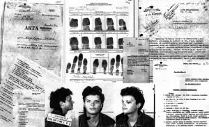Na temat działalności aktywistów RSA służby bezpieczeństwa PRL zebrały kilkanaście teczek dokumentów. Nz. akta Krzysztofa Skiby.