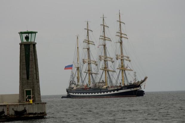 Kruzensztern już nie raz odwiedzał Gdynię i zawsze cieszył się ogromnym zainteresowaniem.