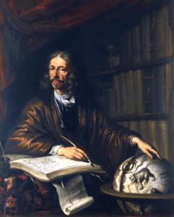 Obraz przedstawiający Jana Heweliusza.