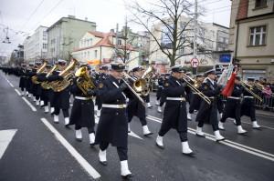 Na czele gdyńskiej parady przejdzie orkiestra Marynarki Wojennej.