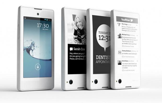 Pierwsza dwuekranowa hybryda smartfonu i czytnika e-booków przeciera szlak.