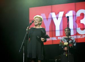 Nagrodę Grand Prix wręczała Katarzyna Figura.