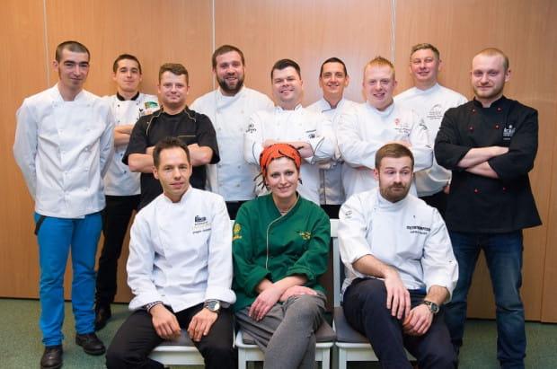 Dwunastu trójmiejskich szefów kuchni z dwunastu restauracji serwujących zupełnie różne typy dań.