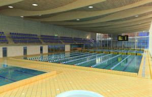 Trzecim etapem budowy obiektu sportowego jest pływalnia.