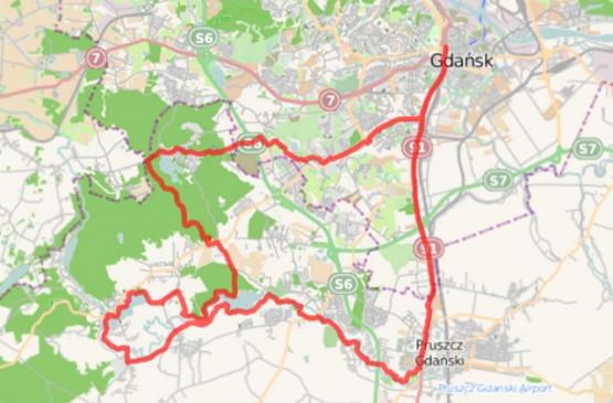 Kliknij na mapę i zapoznaj się z detalami trasy