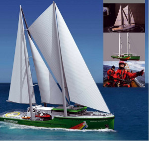 """Jednym z ostatnich prestiżowych kontraktów spółki był zwodowany w listopadzie 2010 roku kadłub dwumasztowego żaglowca wzorowanego na jednym z najsłynniejszych statków na świecie, """"Rainbow Warrior"""", dla organizacji Greenpeace."""