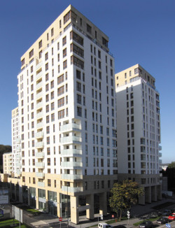W Quattro Towers dostępnych jest pięć mieszkań,które kupić można z dopłatą.