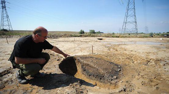Archeolodzy znaleźli ślady słowiańskiej osady z wczesnego średniowiecza na placu budowy Południowej Obwodnicy Gdańska niedaleko węzła Straszyn.