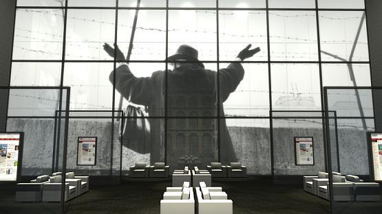 Pierwszego września poznamy zwycięski projekt siedziby muzeum. Na wizualizacji fragment projektu wystawy stałej w muzeum.