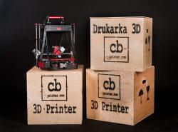 Drukarki 3D dostarczane są w solidnych opakowaniach.