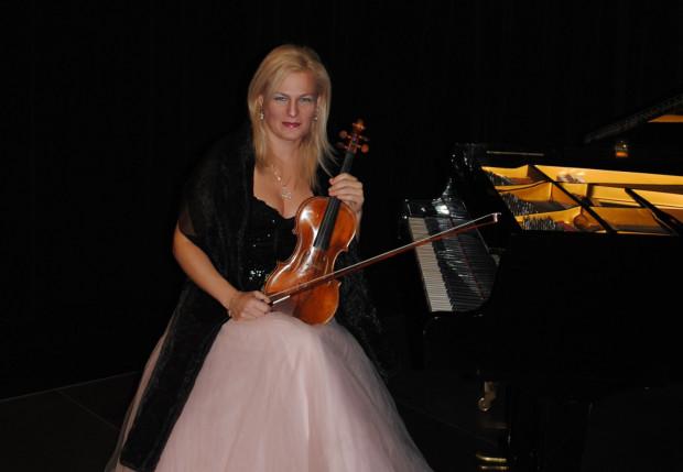 Natalia Walewska, koncertmistrz Orkiestry Polskiej Filharmonii Bałtyckiej.
