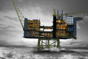 Platforma wydobywczo-procesowa Edvard Grieg stanie na polu naftowym o tej samej nazwie, położonym na Morzu Północnym.