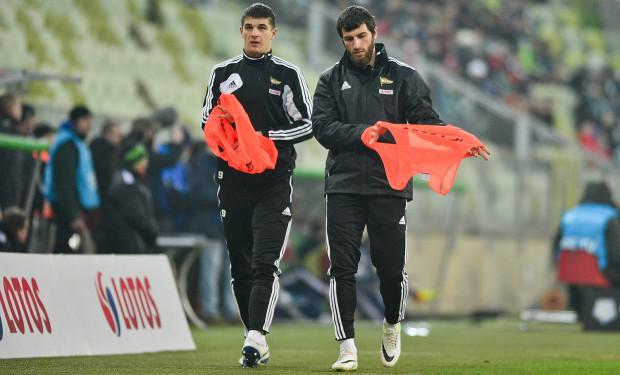 Piotr Grzelczak i Zaur Sadajew wystąpili w sobotnim sparingu rezerw Lechii. Zwycięstwo przyszło po bramkach pierwszego z nich.