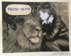 Nauczyciele II LO sporo wymagali od uczniów. Powyżej żartobliwy collage przedstawiający profesor Blumę, która uczyła biologii.