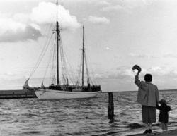 Jacht Generał Zaruski.